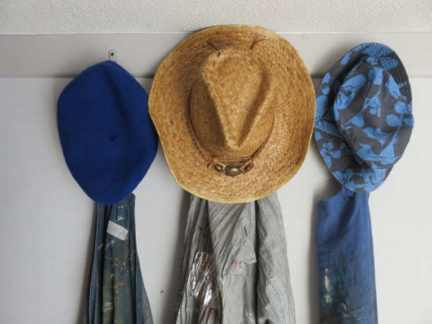 The Cambridge 3 hats and aprons